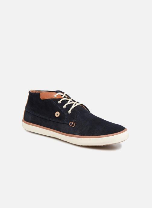 Sneakers Faguo Wattle Suede Blauw detail