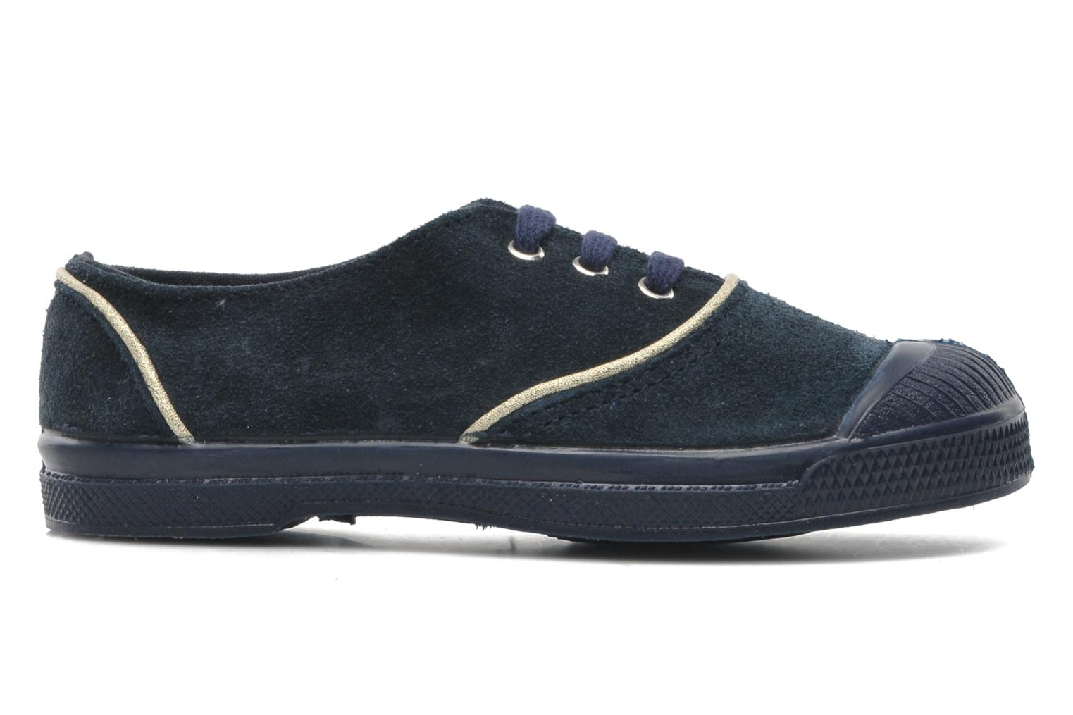 Trainers Bensimon Tennis Suedpiping E Blue back view