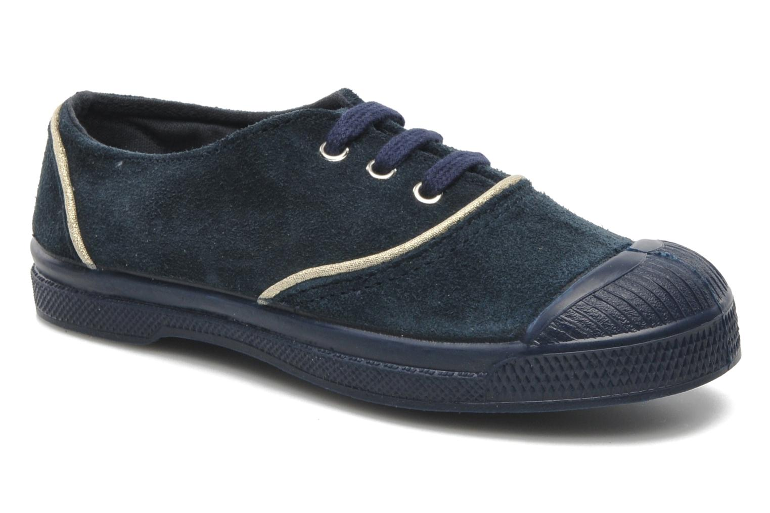 Trainers Bensimon Tennis Suedpiping E Blue detailed view/ Pair view