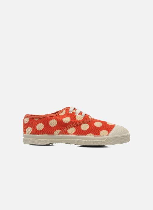 Sneakers Bensimon Tennis Velours Pois E Arancione immagine posteriore