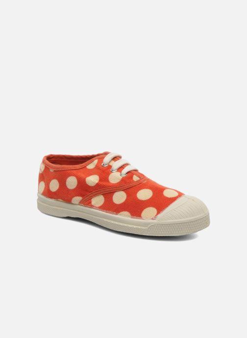 Sneakers Bensimon Tennis Velours Pois E Arancione vedi dettaglio/paio