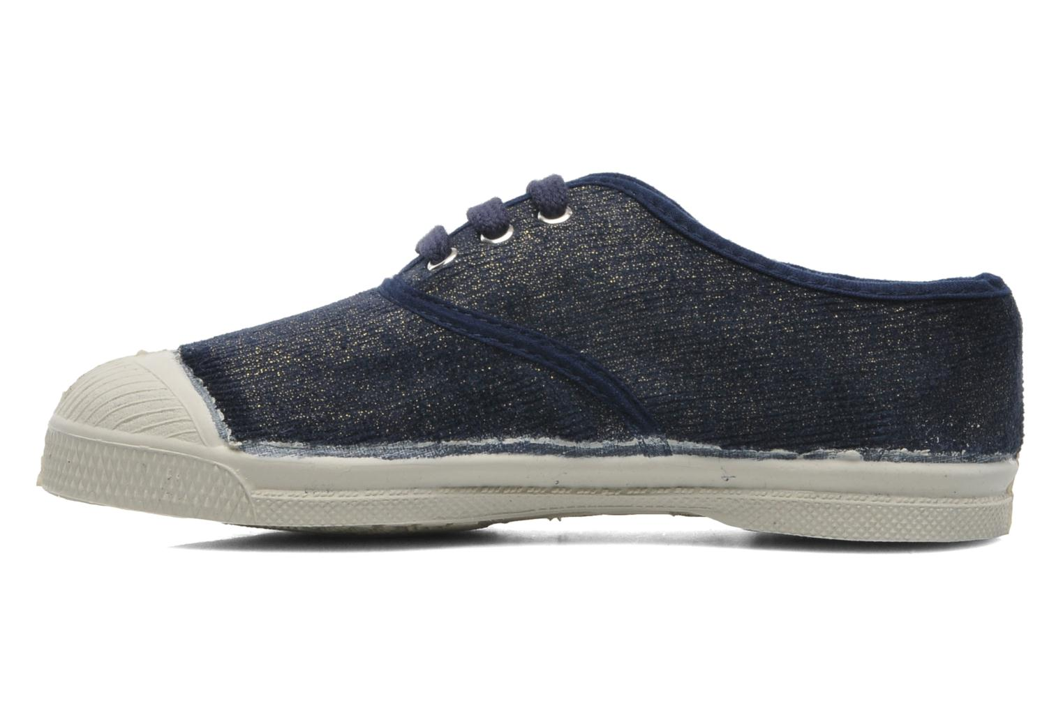 Trainers Bensimon Tennis Shinny E Blue front view