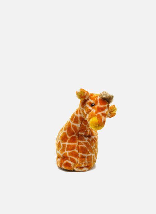 Pantuflas Sleeperz Giraffes Marrón vista del modelo