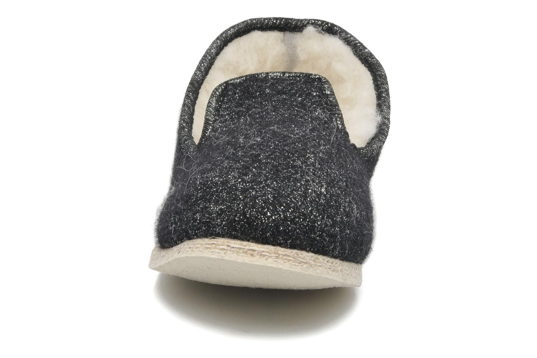 Chaussons Rondinaud Muizon-P Noir vue portées chaussures