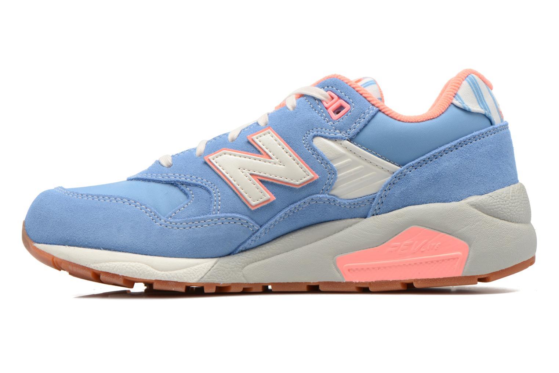 Sneakers New Balance WRT580 Blauw voorkant