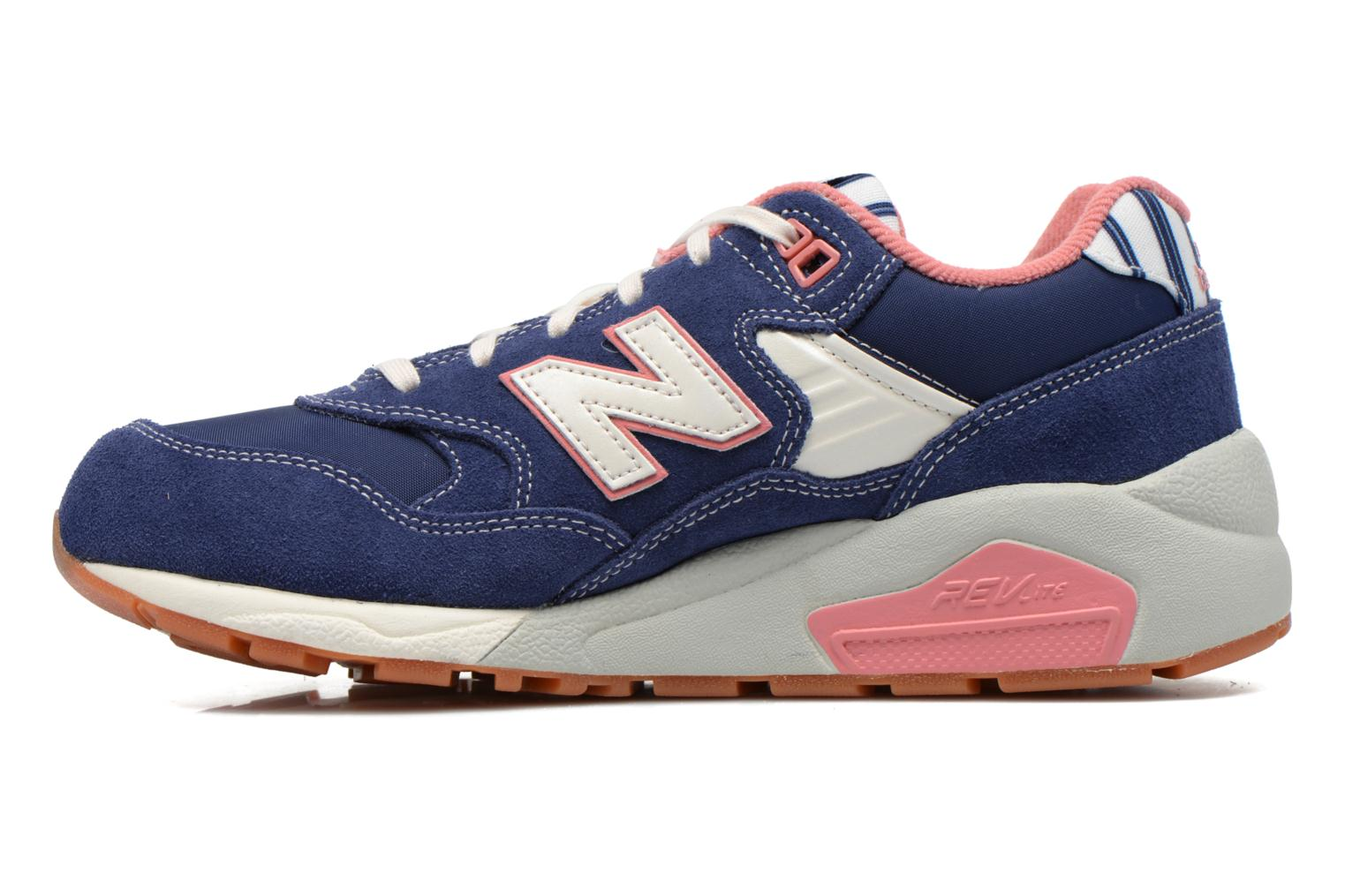 Baskets New Balance WRT580 Bleu vue face