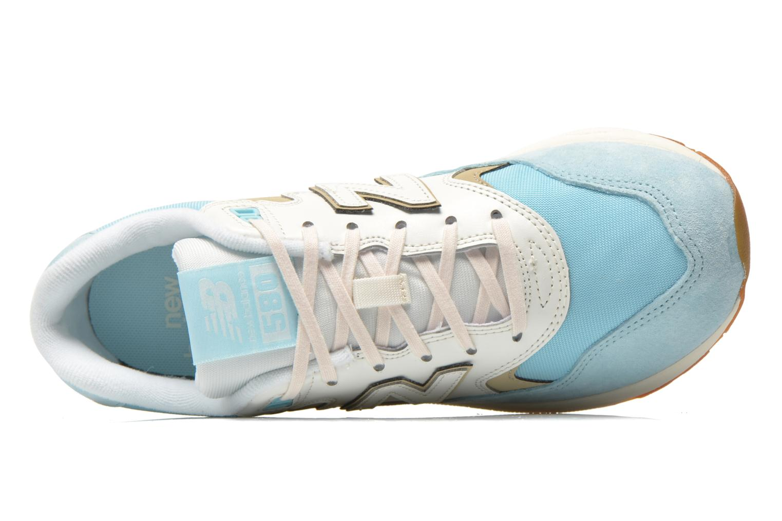 Sneaker New Balance WRT580 blau ansicht von links