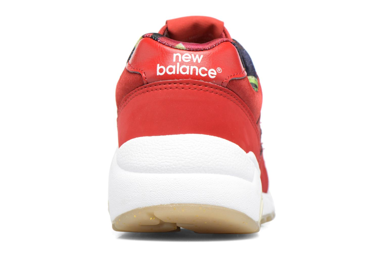 Sneaker New Balance WRT580 rot ansicht von rechts