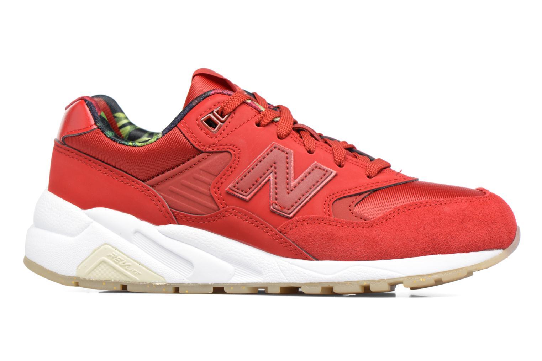 Sneaker New Balance WRT580 rot ansicht von hinten