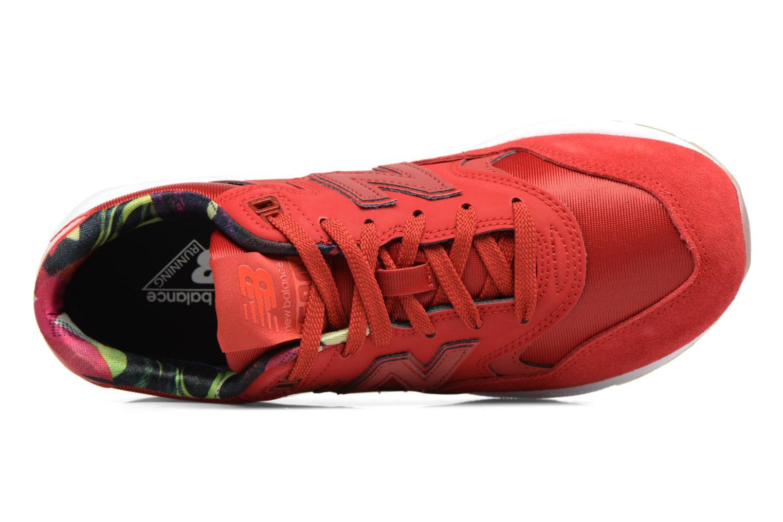Sneaker New Balance WRT580 rot ansicht von links