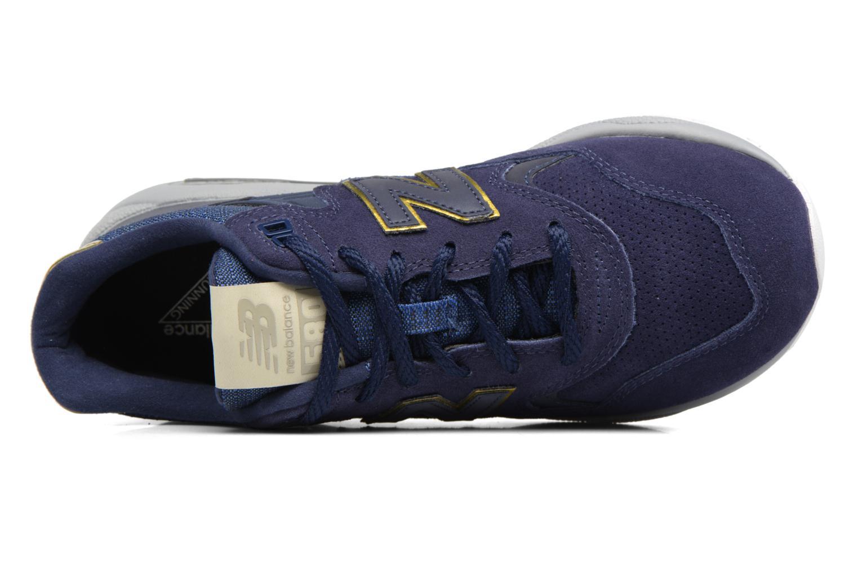 Baskets New Balance WRT580 Bleu vue gauche