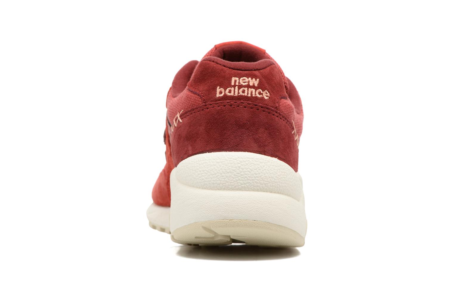 Trainers New Balance WRT580 Red view from the right