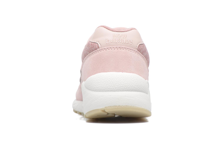 Sneakers New Balance WRT580 Rosa Bild från höger sidan