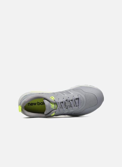 Sneaker New Balance MRT580 grau ansicht von links