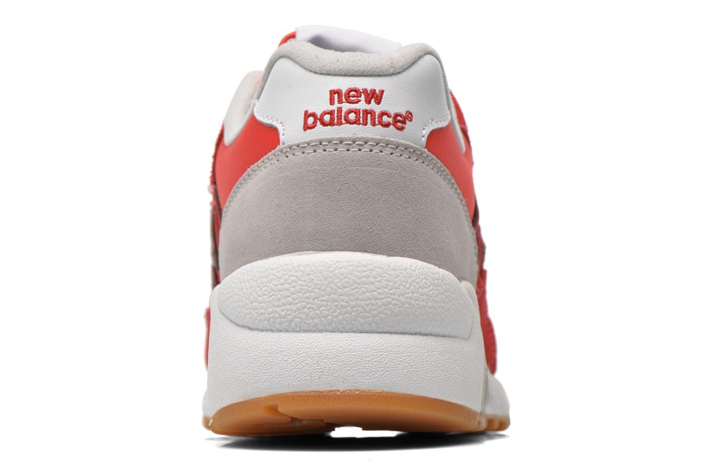 Baskets New Balance MRT580 Rouge vue droite