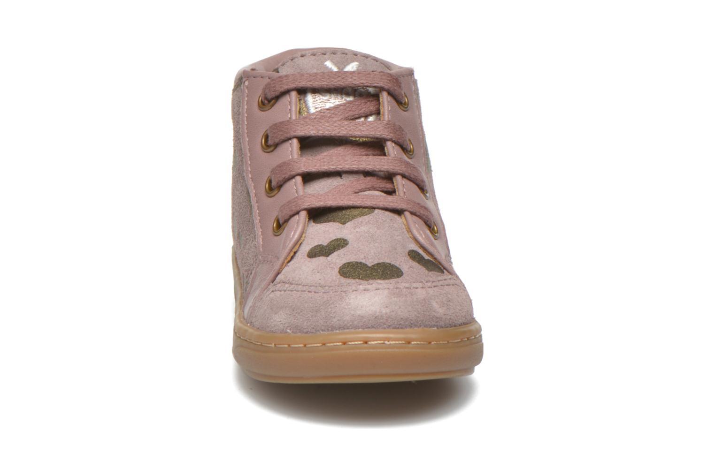 Bottines et boots Shoo Pom Bouba Bump Rose vue portées chaussures