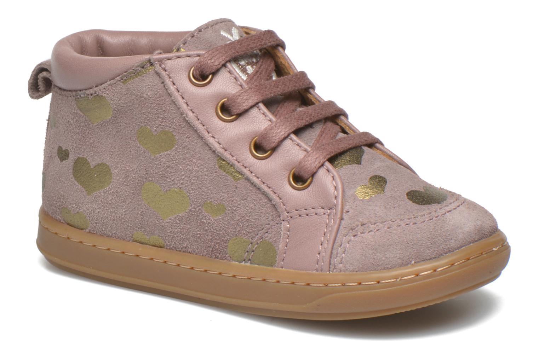Bottines et boots Shoo Pom Bouba Bump Rose vue détail/paire