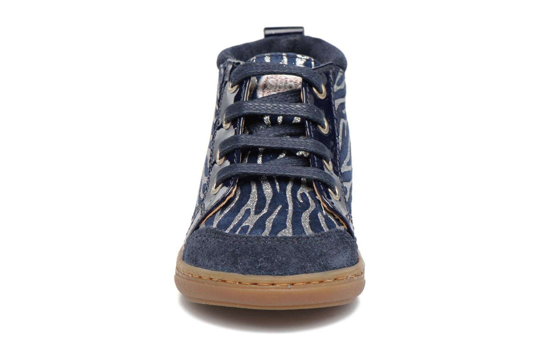Bottines et boots Shoo Pom Bouba Bump Bleu vue portées chaussures