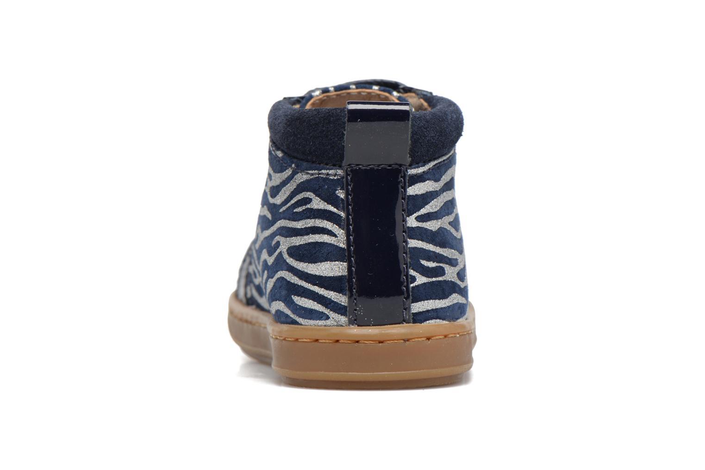 Bottines et boots Shoo Pom Bouba Bump Bleu vue droite