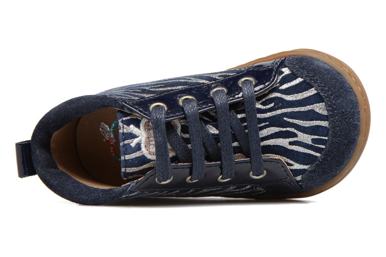 Bottines et boots Shoo Pom Bouba Bump Bleu vue gauche