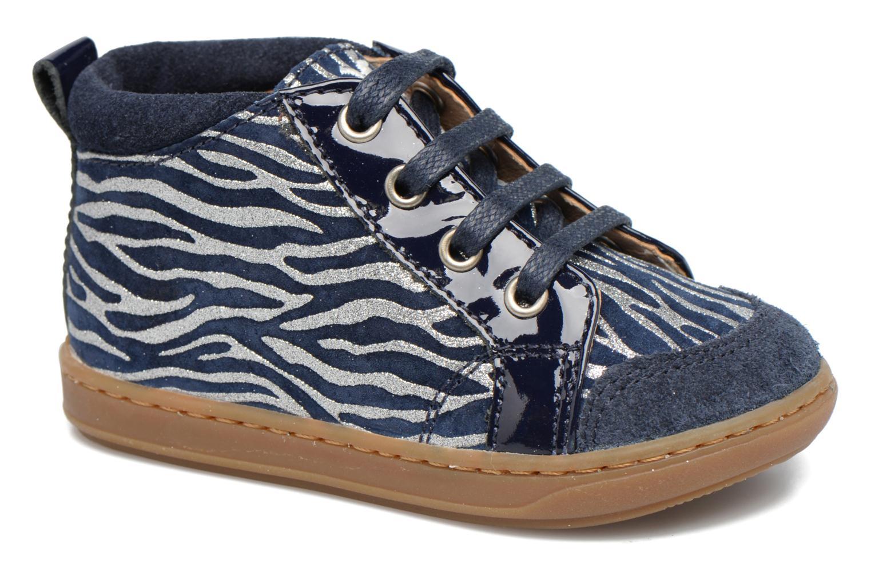 Bottines et boots Shoo Pom Bouba Bump Bleu vue détail/paire
