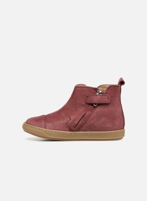 Ankle boots Shoo Pom Bouba Apple Burgundy front view