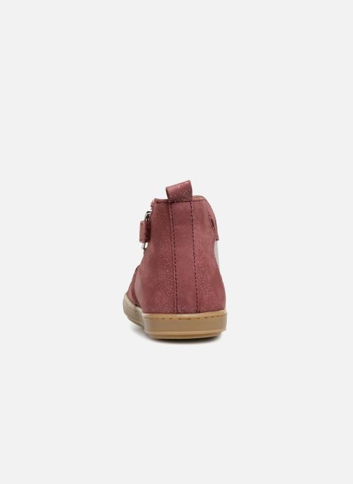 Ankle boots Shoo Pom Bouba Apple Burgundy view from the right