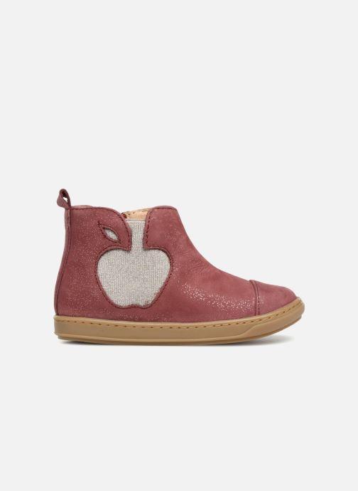 Ankle boots Shoo Pom Bouba Apple Burgundy back view