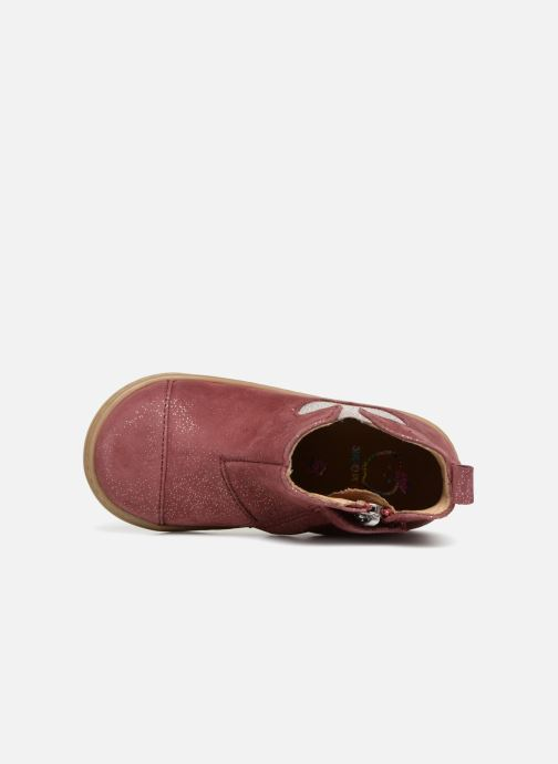 Ankle boots Shoo Pom Bouba Apple Burgundy view from the left