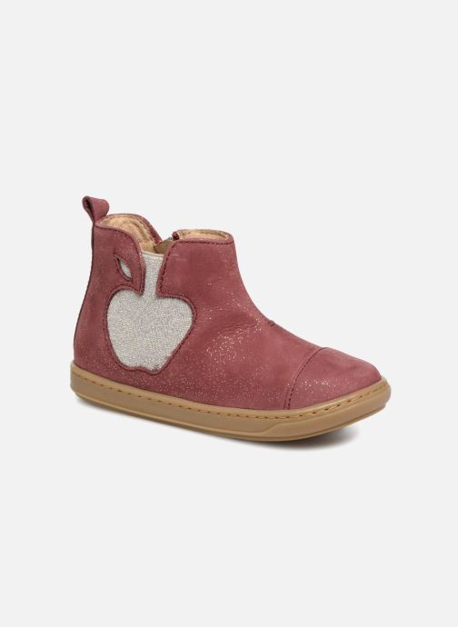 Ankle boots Shoo Pom Bouba Apple Burgundy detailed view/ Pair view