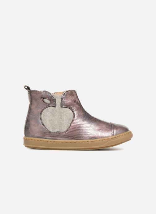 Ankle boots Shoo Pom Bouba Apple Silver back view