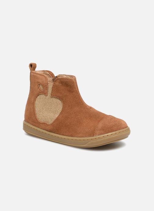 Bottines et boots Shoo Pom Bouba Apple Marron vue détail/paire