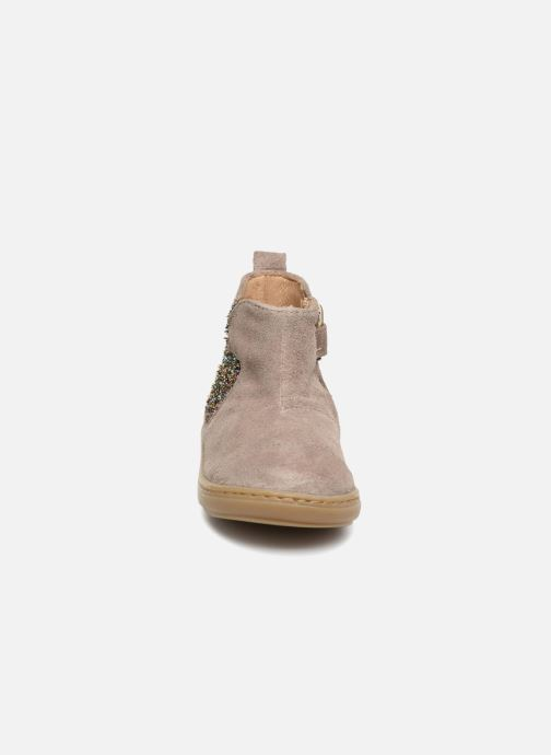 Ankle boots Shoo Pom Bouba Apple Beige model view