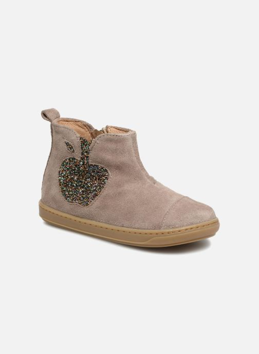 Ankle boots Shoo Pom Bouba Apple Beige detailed view/ Pair view