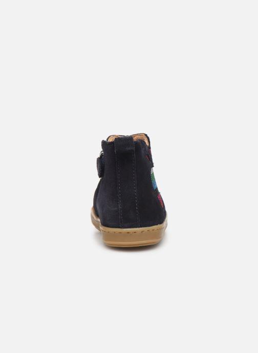 Bottines et boots Shoo Pom Bouba Apple Bleu vue droite