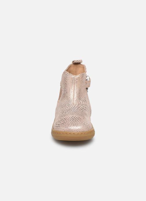 Bottines et boots Shoo Pom Bouba Apple Rose vue portées chaussures