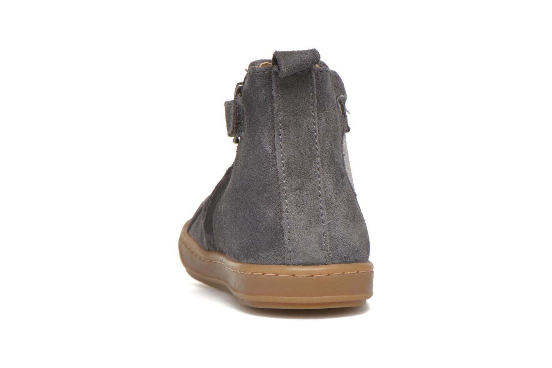 Bottines et boots Shoo Pom Bouba Apple Gris vue droite