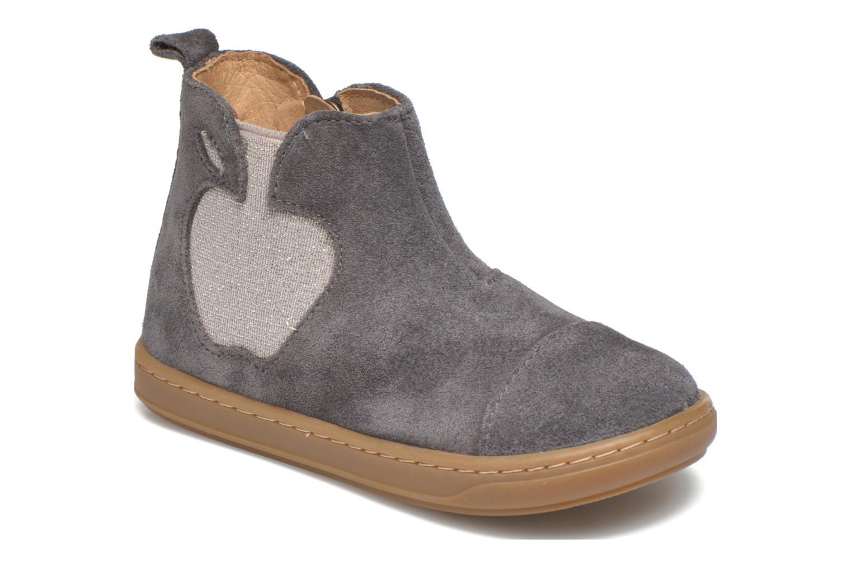 Bottines et boots Shoo Pom Bouba Apple Gris vue détail/paire