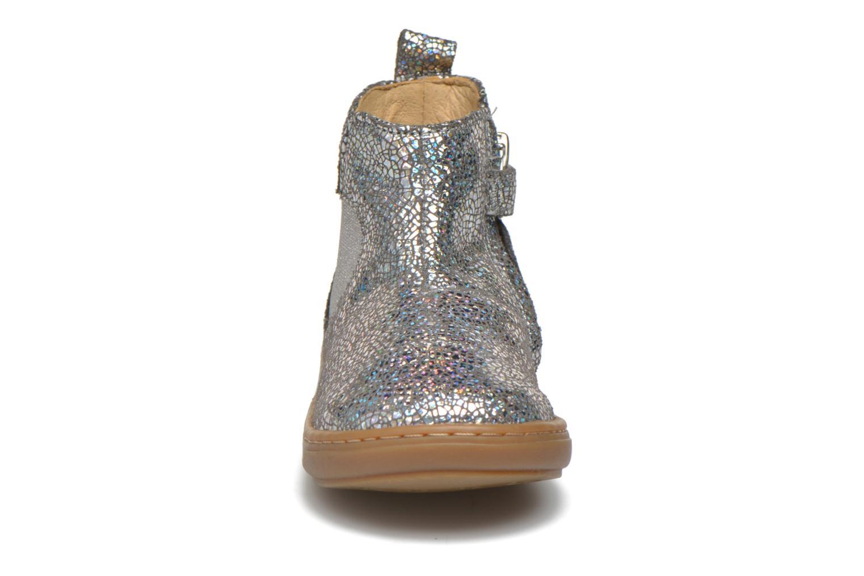 Bottines et boots Shoo Pom Bouba Apple Argent vue portées chaussures
