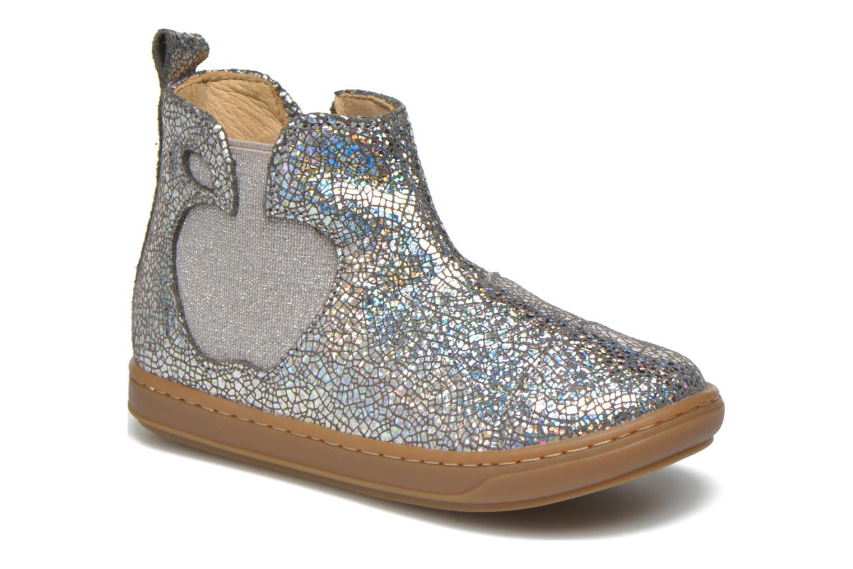 Bottines et boots Shoo Pom Bouba Apple Argent vue détail/paire