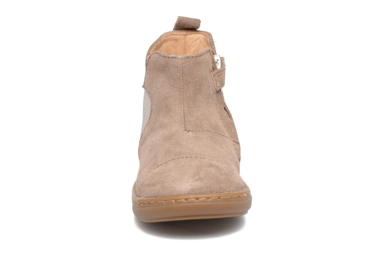 Bottines et boots Shoo Pom Bouba Apple Beige vue portées chaussures