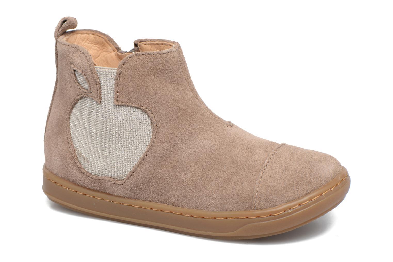 Bottines et boots Shoo Pom Bouba Apple Beige vue détail/paire