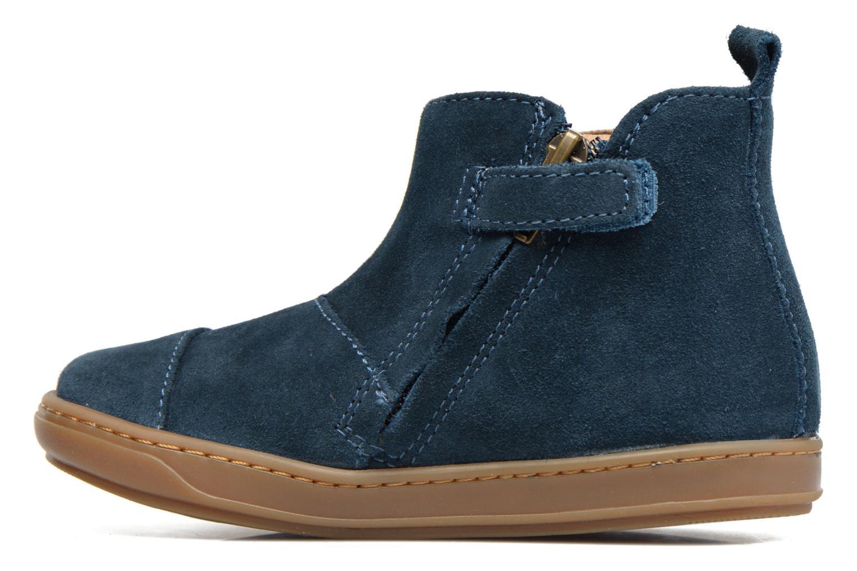 Bottines et boots Shoo Pom Bouba Apple Bleu vue face