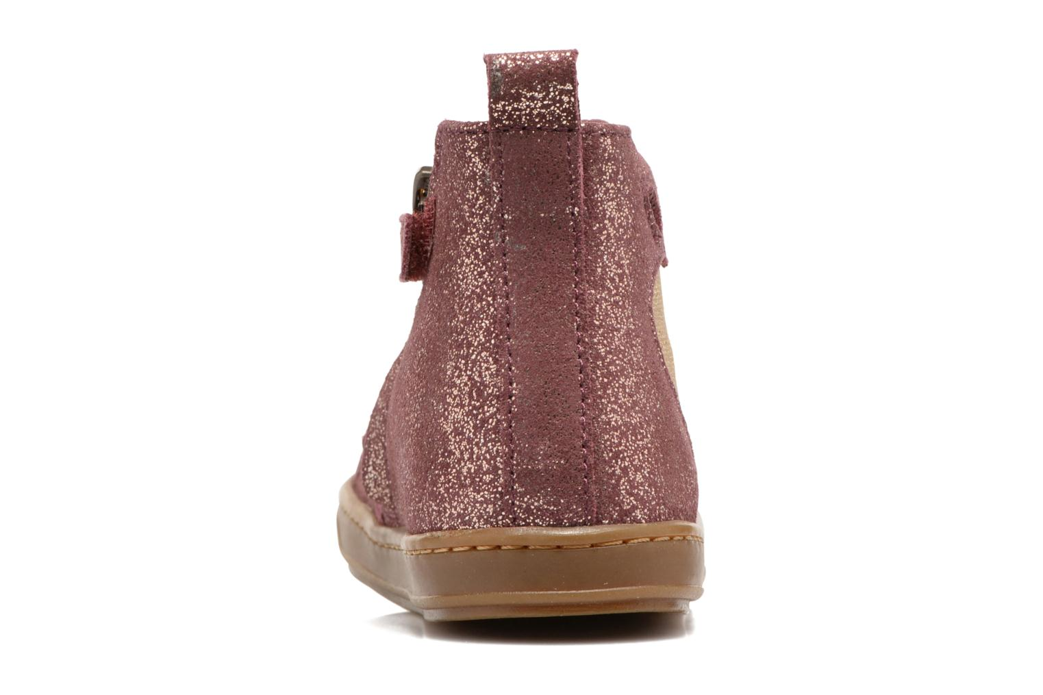 Ankle boots Shoo Pom Bouba Apple Pink view from the right
