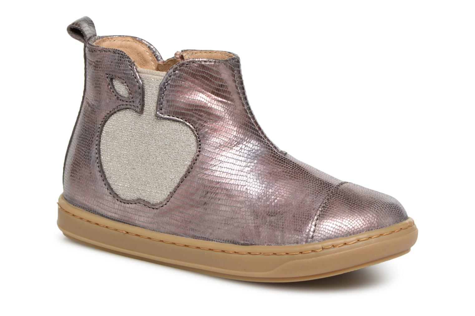 Ankle boots Shoo Pom Bouba Apple Silver detailed view/ Pair view