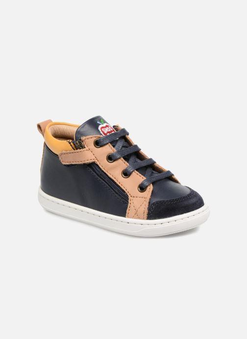 Bottines et boots Shoo Pom Bouba Bi Zip Bleu vue détail/paire