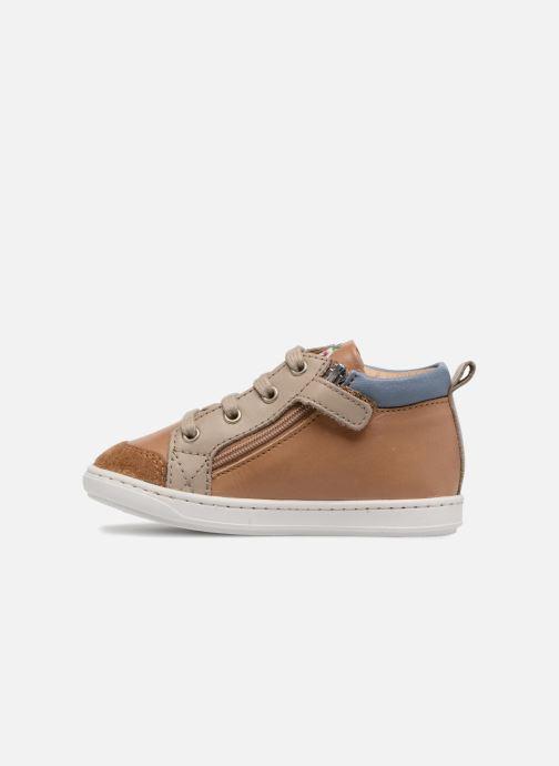 Ankle boots Shoo Pom Bouba Bi Zip Brown front view