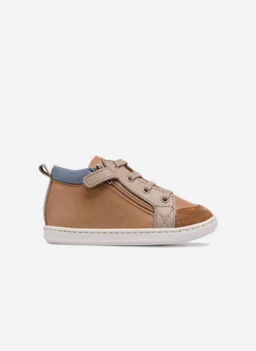 Ankle boots Shoo Pom Bouba Bi Zip Brown back view