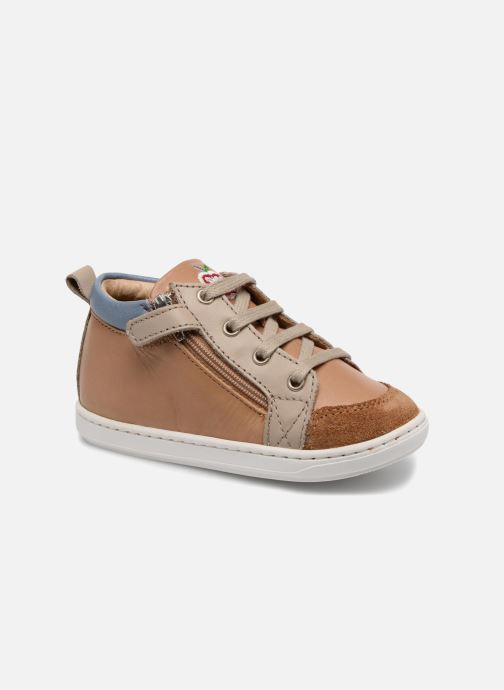 Ankle boots Shoo Pom Bouba Bi Zip Brown detailed view/ Pair view