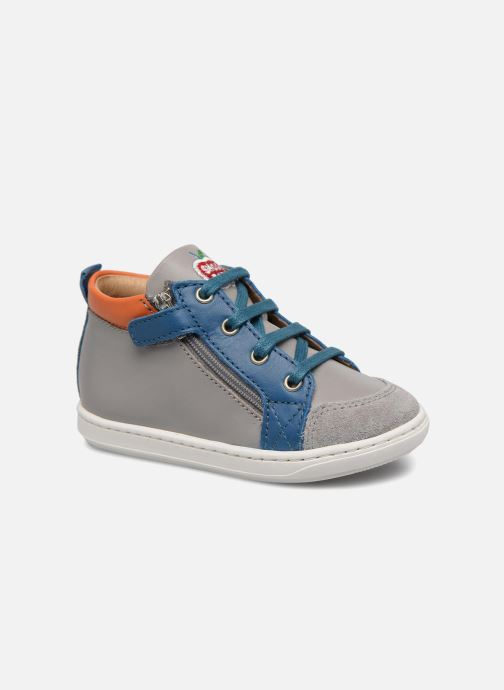 Ankle boots Shoo Pom Bouba Bi Zip Grey detailed view/ Pair view